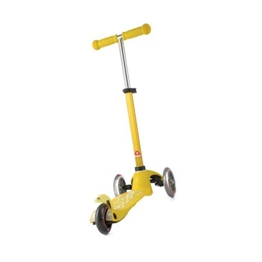 Micro Mini Micro Scooter Deluxe Sarı Sarı